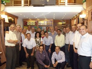 Staff at Giza Bookshop opening 6